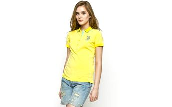U.S. POLO - Polo LADY PLAYER - žlutá, XS