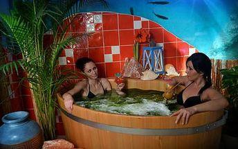 Pivní konopná péče a mořské lázně v Rožnovských pivních lázních s více než 20 zážitky pro dva