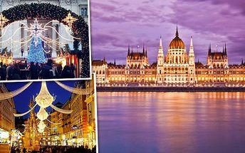 Adventní zájezd do Budapešti