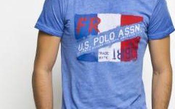 U.S. Polo - T-shirt - modrá, S