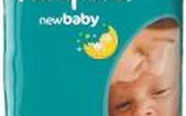 PAMPERS New baby 1 newborn 2-5 kg 43 kusů