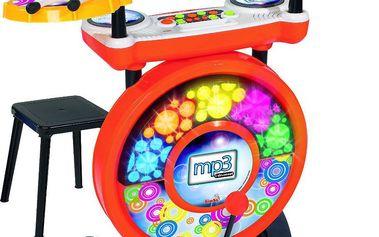 Elektronické bubny Simba se stoličkou
