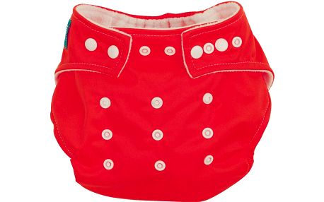 G-mini Plenkové kalhotky mesh červená UNI