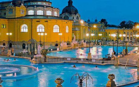 Adventní Budapešť a termální lázně na 3 dny s ubytováním v centru města