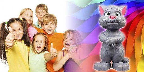 Mluvící kocour Talking Tom - skvělá hračka pro děti. Všechny ostatní hračky před ním zblednou závistí. Mluvící kocour Talking Tom totiž umí vyprávět příběhy, hrát písničky a dokonce vyslechnout a zopakovat slova a zvuky!