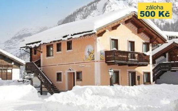 Itálie, oblast Livigno, doprava vlastní, bez stravy na 8 dní