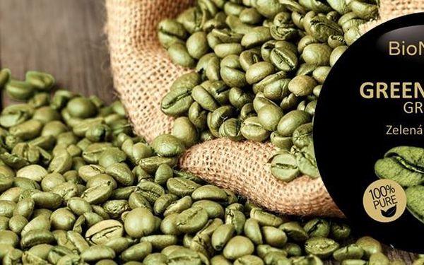 Zelená káva 500 g na detoxikaci organismu, zrnková