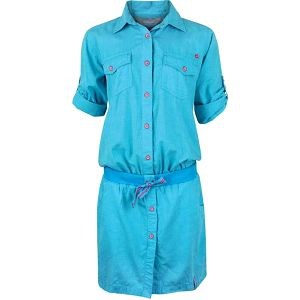 Dámské šaty Loap Natura CCW1508 - modrá