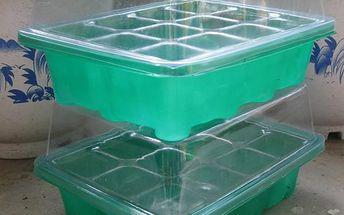 Plastová bedýnka na sázení