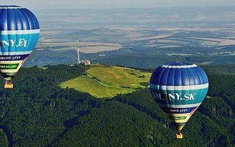 Nadpozemský zážitek v horkovzdušném balonu