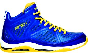 AND1 Me8 empire mid W.Blue/W.Blue/W.Gold D1029M-MMY