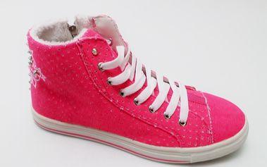 Dámské kotníkové tenisky Mixer, růžové