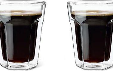 Set dvoustěnných sklenic Coffee, 220 ml, 2 ks