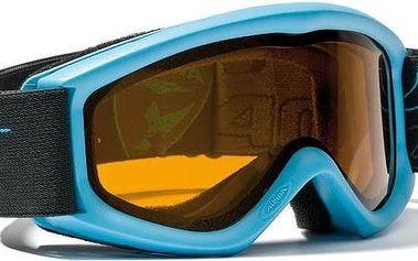 Alpina Carat D Cyan dětské lyžařské brýle - modrá