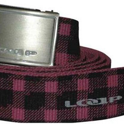 Pásek Loap Tarano pink/black - růžová/černá