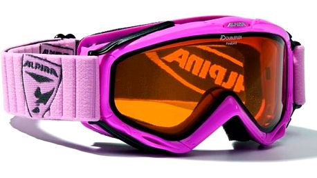 Alpina Firebird Rose lyžařské brýle - růžová