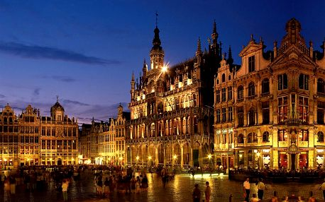 Belgie - Last minute: Belgie na 5 dní v termínu 04.11.2015 jen za 3890 Kč.