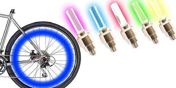 Barevné svítící ventilky na kolo i na auto!
