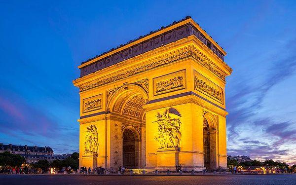 Adventní zájezd do Paříže s nákupy na Champs Élysées - termíny od konce listopadu