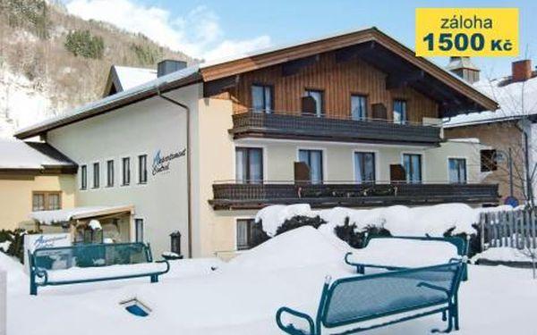 Rakousko, oblast Salcbursko, doprava vlastní, bez stravy, ubytování v 4* hotelu na 8 dní