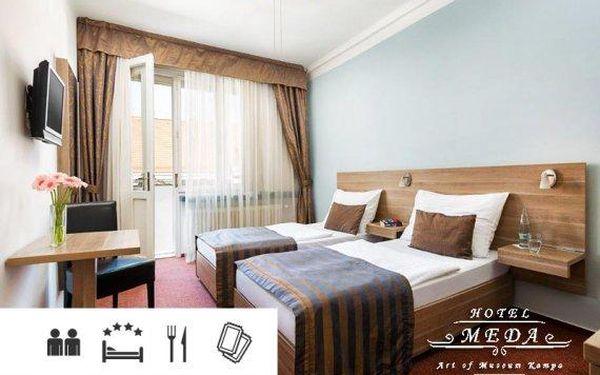 Praha – pobyt se snídaní v 4* hotelu