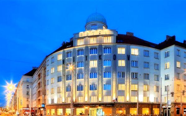 2 nebo 3 dny pro 2 osoby se snídaněmi v Praze v hotelu Vítkov***