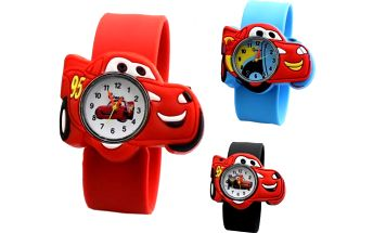 Autíčkové hodinky pro děti Cars!