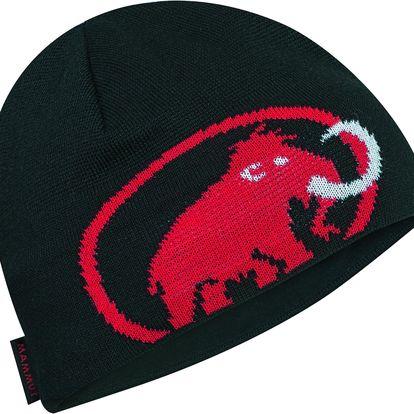 Unisex zimní čepice Mammut Tweak Beanie, černá, UNI