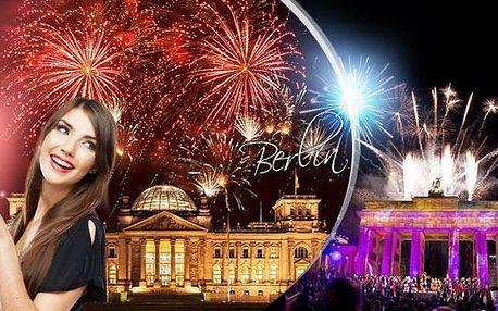 Berlín - SILVESTR! 2denní zájezd pro 1 osobu z Prahy na megapárty oslavy Nového roku, 1.12.2015 - 1.1.2016!