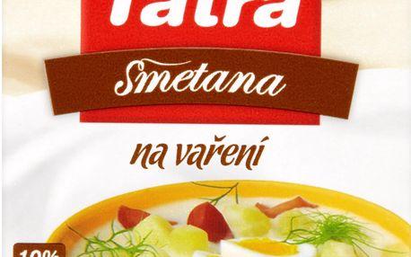 Tatra Tatra Smetana na vaření 10% 250g
