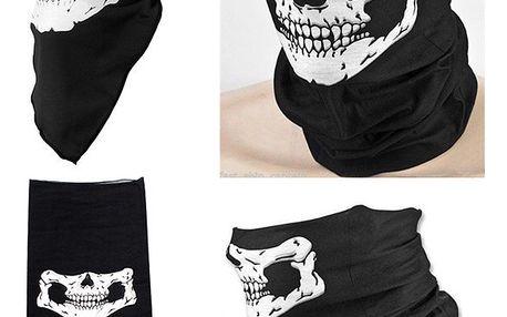 Originální šátek s motivem lebky