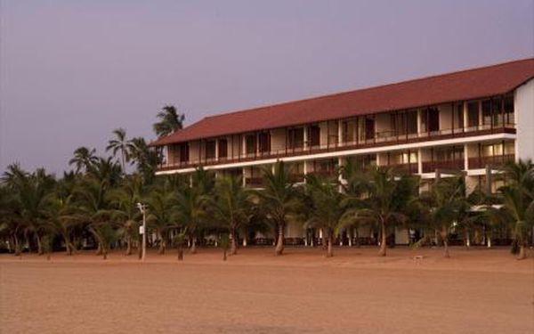 Srí Lanka, oblast Negombo, doprava letecky, snídaně, ubytování v 5* hotelu na 10 dní