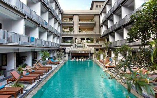 Bali, oblast Kuta Beach, doprava letecky, snídaně, ubytování v 3* hotelu na 10 dní