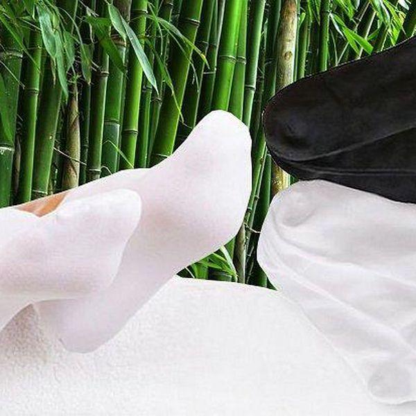 15 párů antibakteriálních kotníkových ponožek z 95% přírodního bambusu