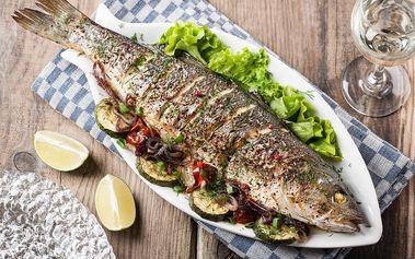 30% sleva na veškeré rybí speciality z jídelního lístku restaurace Sklípek U Munků! Rybí bašta v Praze 2!
