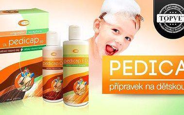Šampon a vlasový olej Pedicap proti vším