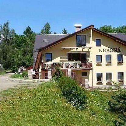 3 až 6 dní pro 2 osoby nebo celou rodinu v apartmánu Krásná v Jizerských horách