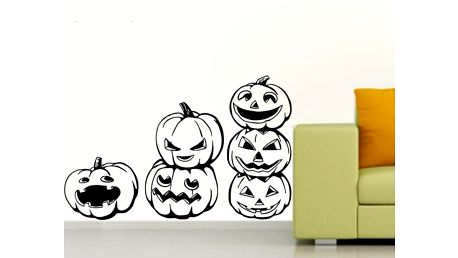 Samolepka na zeď Pumpkin Halloween!