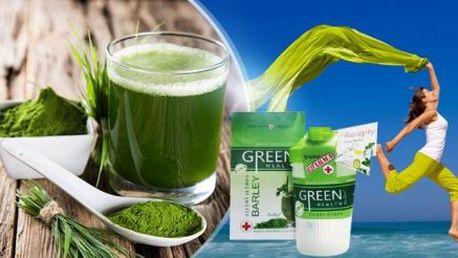 ZELENÝ JEČMEN Green Health - 250 g prášku + SHAKER včetně poštovného! Přírodní síla enzymů a vitamínů!