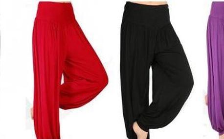 Harémové kalhoty pro volnost pohybu!
