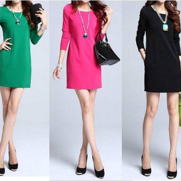 Jednoduché šaty Shape - v jednoduchosti je krása!