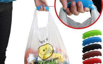 Silikonový držák na nákupní tašky