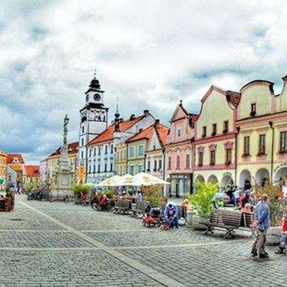 Romantika a relax v jihočeské Třeboni