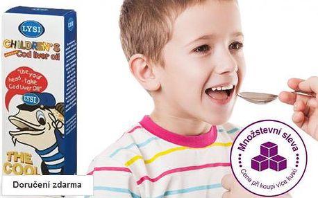 Olej z tresčích jater pro děti
