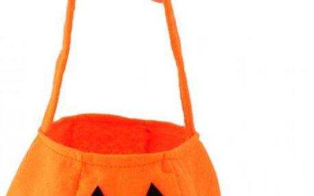 Látkový košík na sladkosti Halloween!