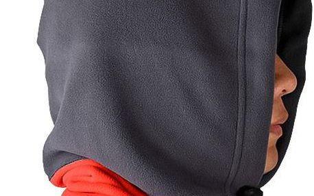 Kapuca prodloužená v šálu