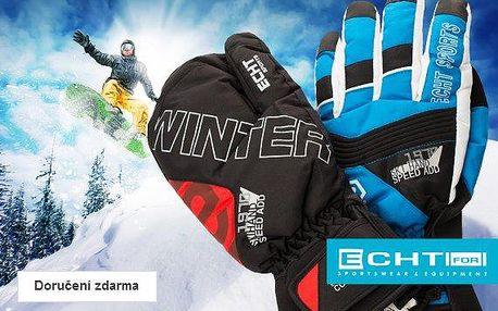 Dámské a pánské lyžařské rukavice
