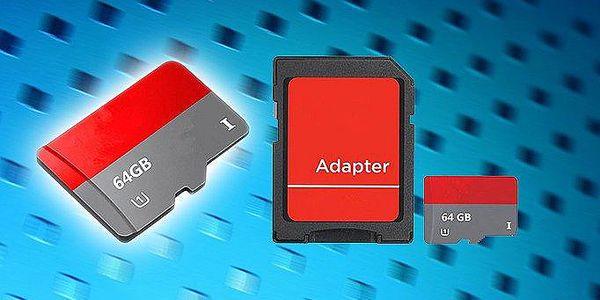 Paměťová karta 64 GB