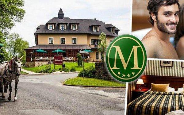 Wellness pobyt pro 2 osoby na 3 dny v luxusním Golf hotelu Morris**** v Mariánských Lázních s prestižním oceněním za nejlepší 4* hotel v Karlovarském kraji! Polopenze, vířivka a spousta procedur - oxygenoterapie, vstup do bazénu, procedura dle výběru, vst
