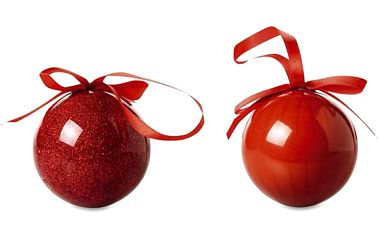 Vánoční baňky Reddies 2 ks!
